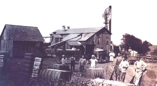 Alvarado cotton gin